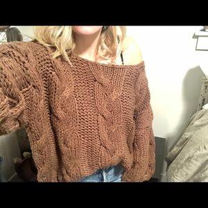 Chunky knit POL sweater